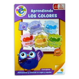 rompecabeza aprendiendo los colores edutoys Ronda + 4 Años unisex Inglés / Español