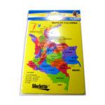 rompecabeza  Fomi Educativo Mapa de Colombia Merletto unisex Surtido +3 Años