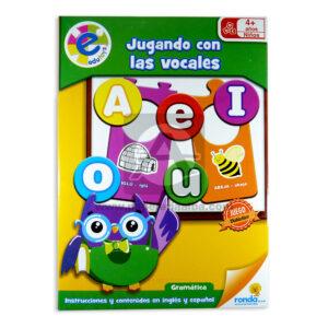 rompecabeza las vocales edutoys Ronda + 4 Años unisex Inglés / Español