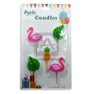 vela Flamencos Party Candles Fival 5 Unidades Surtido unisex