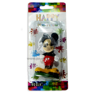 vela happy world Mickey Danyko Niño Multicolor 1 unidad