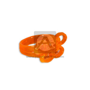 Anillo para piñatas XWJ-0274 Cuantias naranja unisex 1 unidad Pequeño
