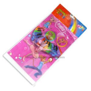 Bolsa sorpresa Angelina Ballerina Colors Parties Cuantias Rosado 20 unidades Niña