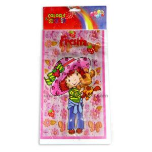 Bolsa sorpresa fresita rosita colors parties Cuantias Fucsia 20 unidades Niña