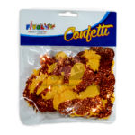 Confetti  para mesa motivo de piñas Fival Dorado Metalizado unisex