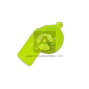 Pito Balón XKS650 Cuantias Pequeño Neón verde 1 unidad Niño