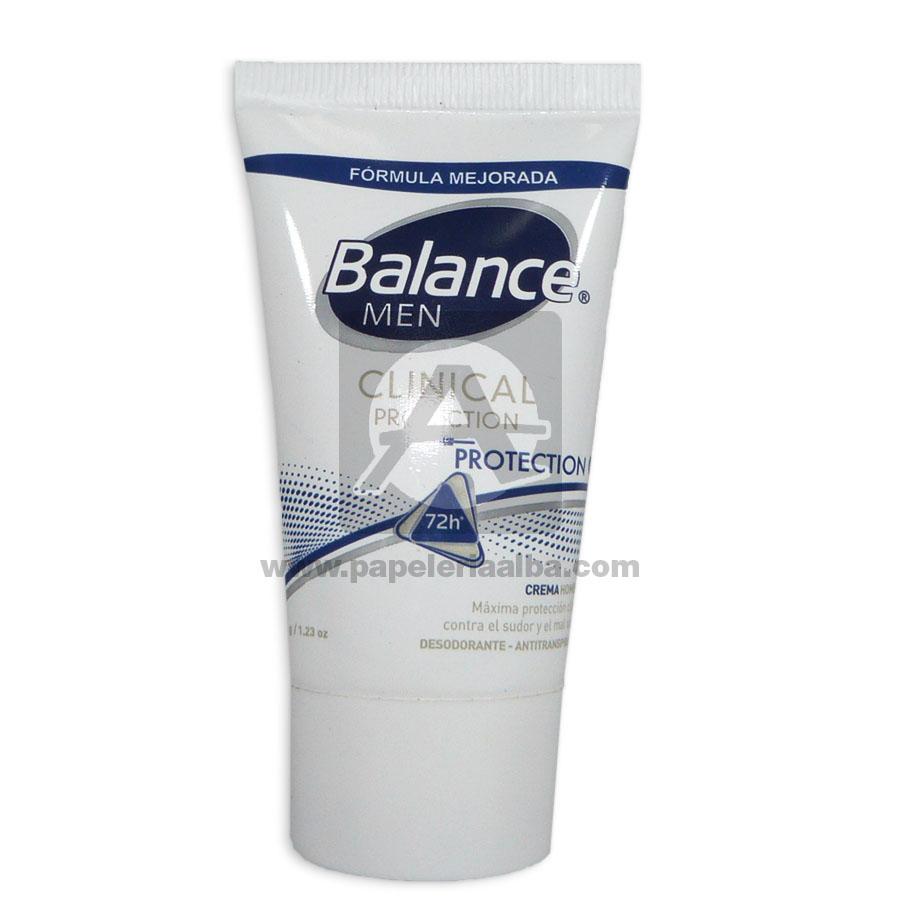 desodorante  Clinical Protection Balance 35 Gramos masculino Tubo