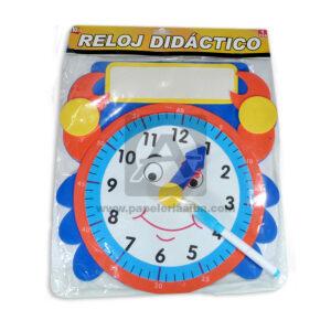 juego didáctico Reloj Dinámico eva-25 Merletto Azul 1 unidad unisex