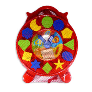juego didáctico reloj con figuras geometricas Fantiplas Mediano unisex 1 unidad Surtido