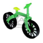 juguete para piñata  mini Bicicleta  Proyecplas Negro Verde Lima 1 unidad unisex Pequeña