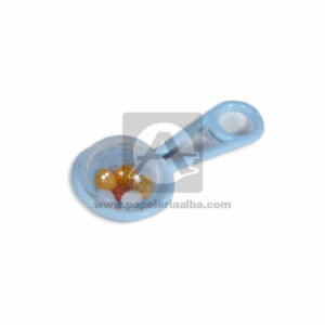 recordatorio Sonajero Mini Referencia #2054 Mega Import Rosado Niña Pequeño