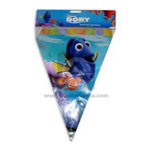 Banderín Metalizado Buscando a Nemo Sempertex 3,6 Metros unisex 1 unidad