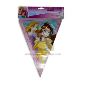 Banderín Metalizado Princesas Disney Sempertex 3,6 Metros Niña 1 unidad