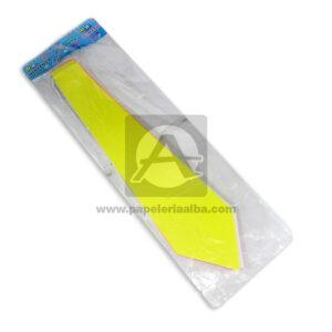 Corbata JD-1160 MiniToys amarillo Neón unisex