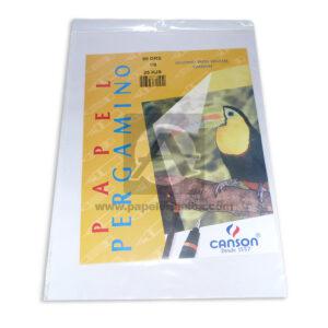 Papel Pergamino legitimo papel vegetal Canson Icopel Octavo 25 hojas 90 gramos