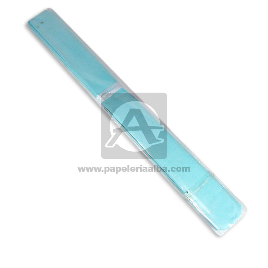 Pompón   de papel #001 Cuantias Azul Celeste unisex