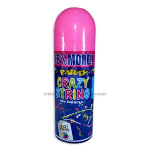 Serpentina en Spray Party String N°03 El Puntazo 250 ml 1 unidad Rosado