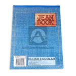 block  Jean Book Escolar Norma Media Carta rayado blanco 80 hojas