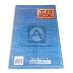 block  Jean Book  Norma rayado 70 Hojas Oficio blanco