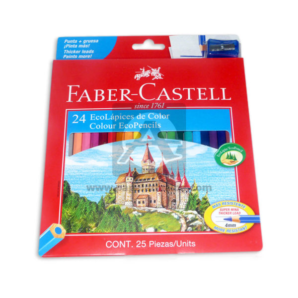 color Ecolápices since 1761 faber castell Surtido 25 Unidades 4mm