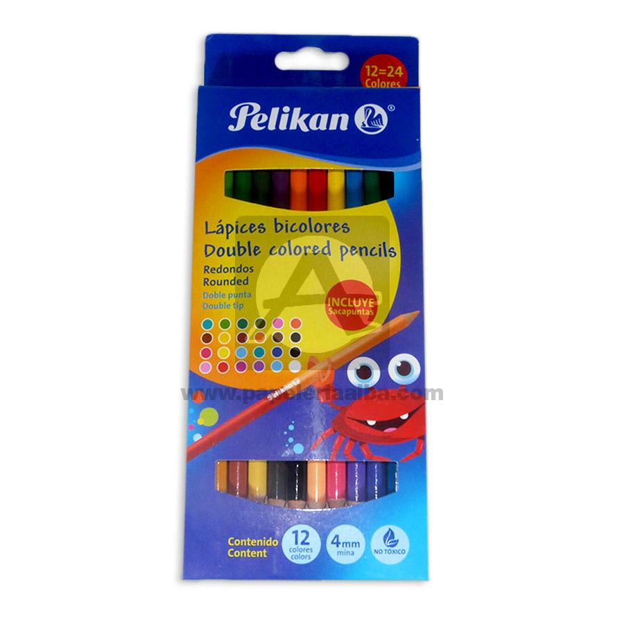 color  con doble punta No tóxico Pelikan 12 unidades 4mm