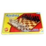 juego de mesa  Ajedrez Clásico  Ronda +6 Años 32 Fichas