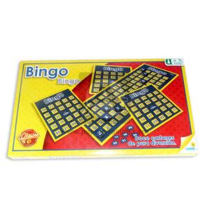 juego de mesa bingo clasico Ronda +8 Años 12 cartones
