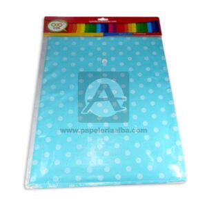 mantel impreso color neutro con circulos C y M 1 unidad azul aguamarina unisex