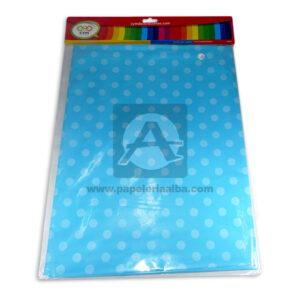 mantel impreso color neutro con circulos N°017 C y M 1 unidad Azul Celeste Blanca unisex