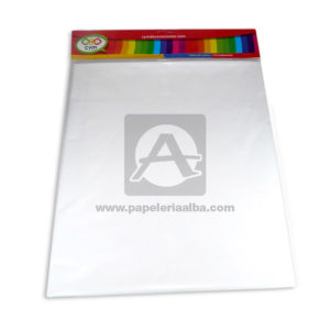 mantel impreso de color neutro N°006 C y M 1 unidad blanco unisex