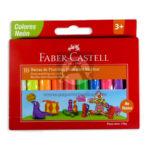 plastilina  de Colores Neón No Tóxica  faber castell Neón Surtido 10 unidades +3 Años