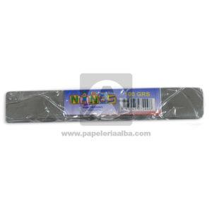 plastilina en Barra para Manualidades y Arte N°004 Nessan 100grs Gris