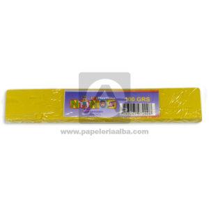 plastilina en Barra para Manualidades y Arte Nessan amarillo 100grs