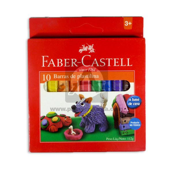 plastilina escolar faber castell Corto 10 unidades Surtido