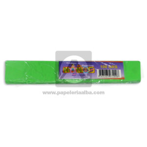 plastilina para Manualidades y Arte N°007 Nessan En barra 100grs Verde Lima