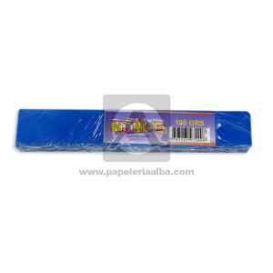 plastilina para Manualidades y Arte N°010 Nessan En barra 100grs Azul