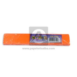 plastilina para Manualidades y Arte N°012 Nessan En barra 100grs naranja Neón