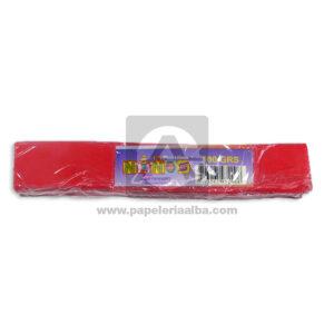 plastilina para Manualidades y Arte N°016 Nessan En barra 100grs Rojo apagado