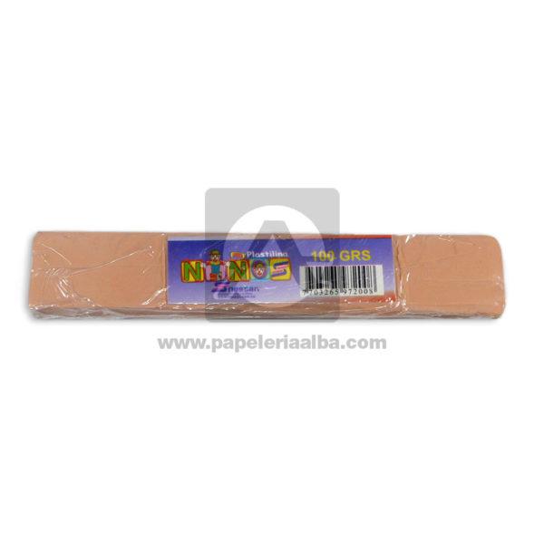 plastilina para Manualidades y Arte N°017 Nessan En barra 100grs Curuba