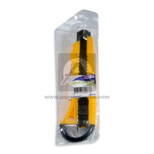 Bisturís escolar N°3838 Nessan amarillo Grande 18mm