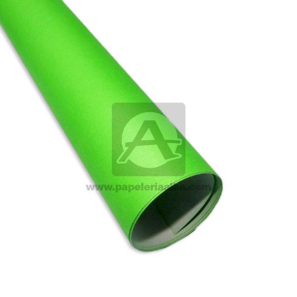 Cartulina Escolar de colores fluorescentes N° 002 Primavera Neón verde medio pliego