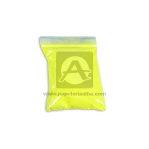 Polvo Neón Mirely N° 002 Bellaforma amarillo Pequeño