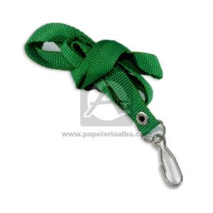 Porta Carnet tipo reata N° 002 El Papelero verde Mediano unisex