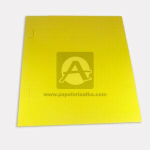 carpeta de presentación N°001 Carvajal amarillo Carta