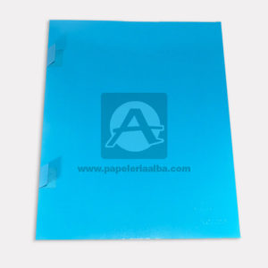 carpeta de presentación N°002 Carvajal Carta Azul
