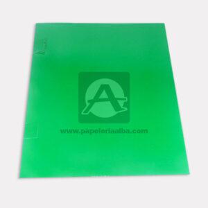 carpeta de presentación N°006 Carvajal verde Carta unisex
