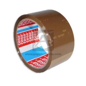 cinta industrial N°318 Tesa Marrón 48mmx40m Grande