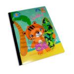 cuaderno cosido  LinKids Surfer  Scribe 100 hojas Cuadros Progresivos Niño  Grande
