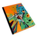 cuaderno cosido  Master Diseño de Fútbol Scribe 100 hojas rayado Grande Niño
