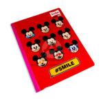 cuaderno cosido  Master MH-S Personajes de Disney Mickey Mouse Scribe 100 hojas Niño  Grande rayado